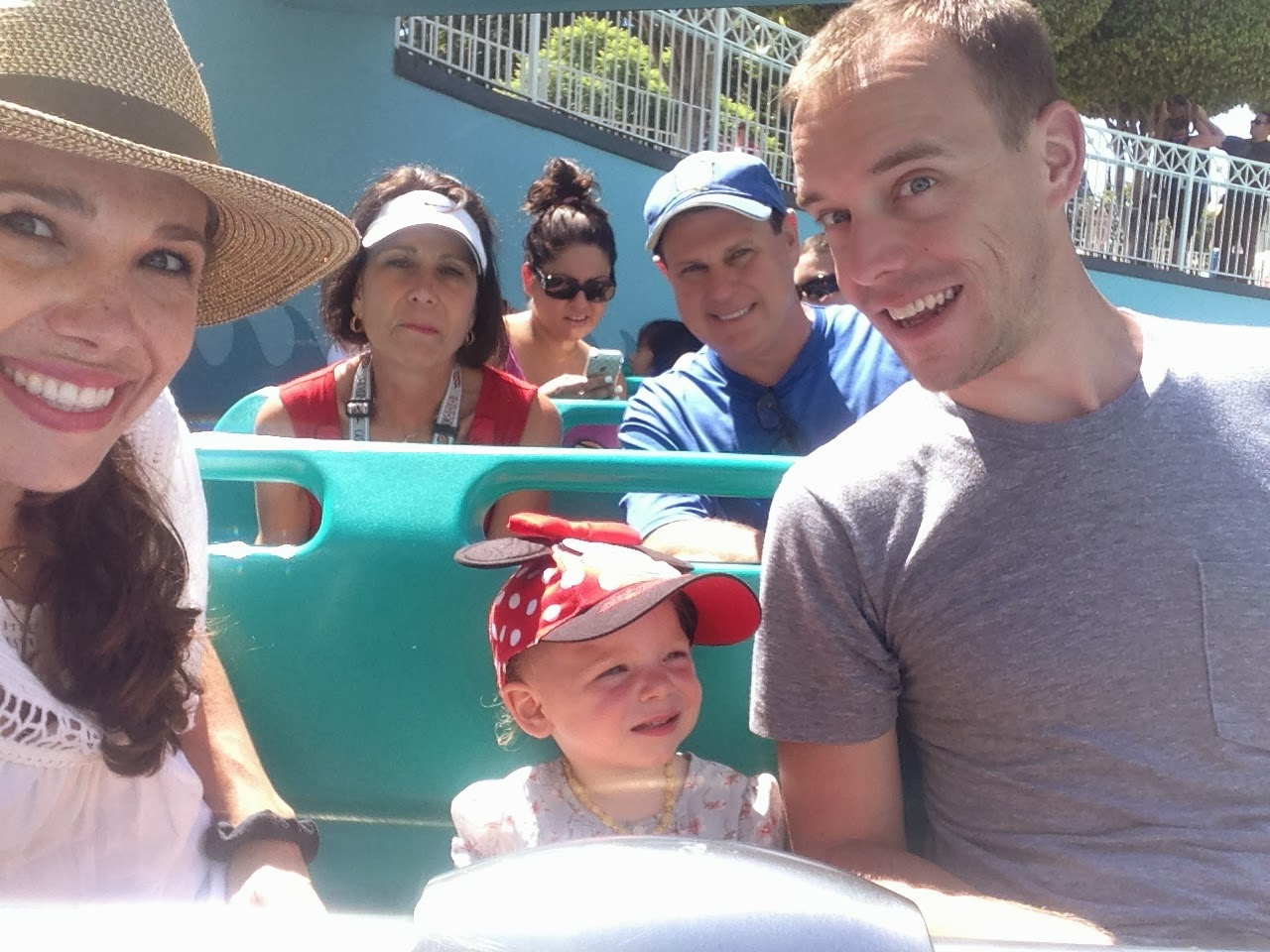First Trip to Disneyland - Sept 2013